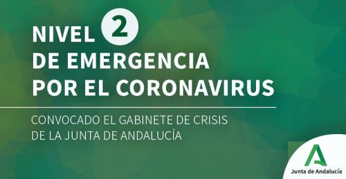 Junta de Andalucía Coronavirus