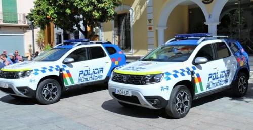 La Policía Local de Almuñécar recibe dos nuevos vehículos patrulla