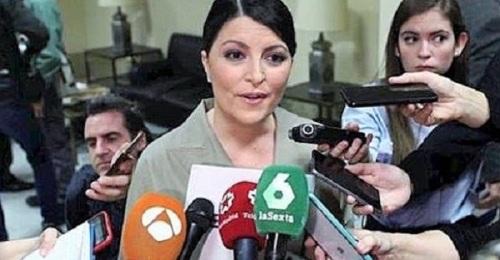 Macarena Olona, diputada por Granada y secretaria general del Grupo Parlamentario VOX
