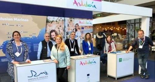 Marinas de Andalucía cierra su periplo internacional en el salón náutico Hiswa Rai en Ámsterdam