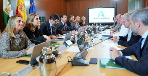 Moreno preside la reunión del Comité para el Control de Situaciones Especiales por el coronavirus