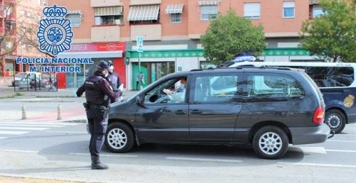 Policía Nacional Coronavirus