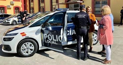 Presentación coches patrulla Policía Local Motril