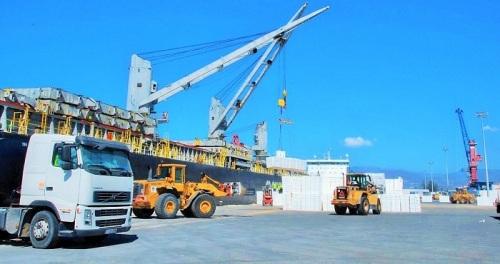 Puerto de Motril mercancías