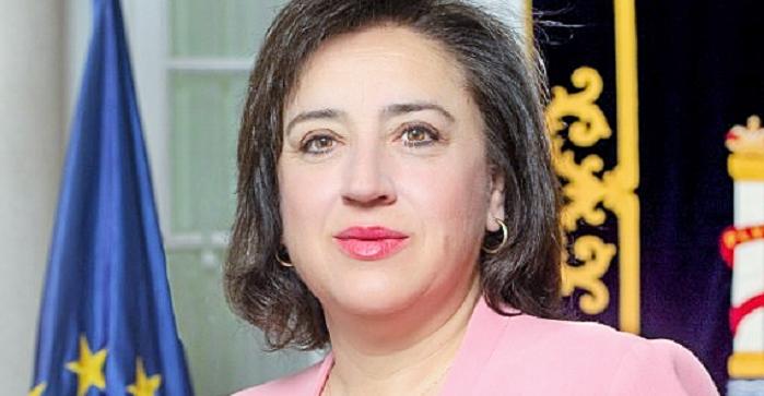 Sandra García, delegada del Gobierno en Andalucía