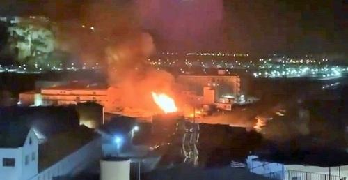 Unos 700 m² de cañaveral afectados por un incendio en La Guardia