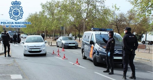 Control Policía Nacional