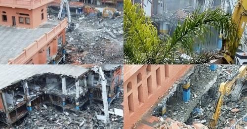 Demolición mercado municipal de Almuñécar