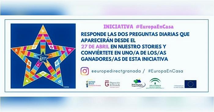 Diputación celebrará el Día de Europa con dos actividades dirigidas a escolares para participar desde casa