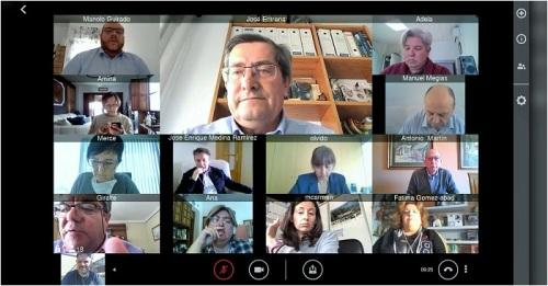 Diputación vuelve a celebrar juntas de gobierno, comisiones y plenos mediante videoconferencia