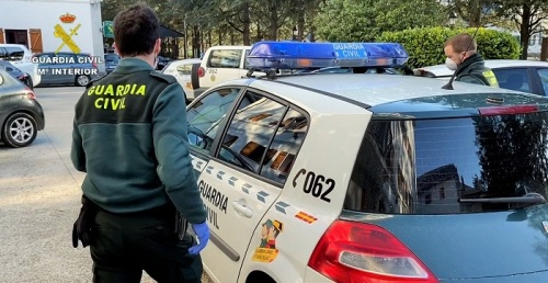 Guardia Civil coronavirus estado de alarma