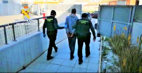 Guardia Civil detención