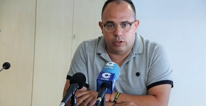 Juan José Ruiz Joya, primer teniente de alcalde de La Herradura