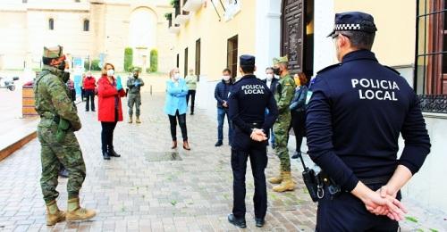 La Legión vuelve a Motril para garantizar la seguridad de la población durante el confinamiento