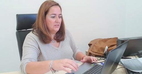 Maria José Sánchez, presidenta de la Mancomunidad