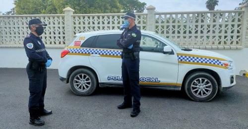 Policía Local Salobreña Covid-19