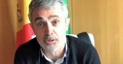 Raúl Orellana, alcalde de Órgiva