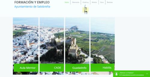 Salobreña pone en marcha una web específica sobre formación y empleo relativa al Covid-19