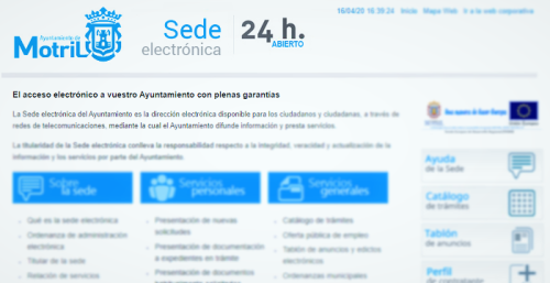 Sede Electrónica Ayuntamiento de Motril