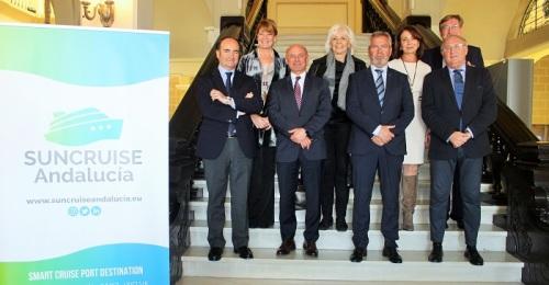 Suncruise Andalucía presenta su nueva imagen de marca para promocionar el turismo de cruceros en la región