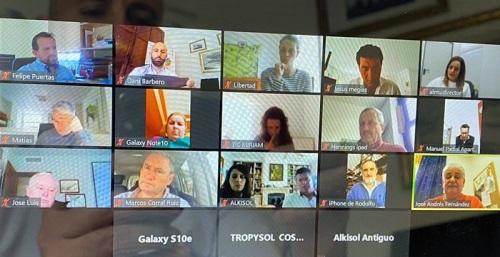 Videoconferencia sector turismo