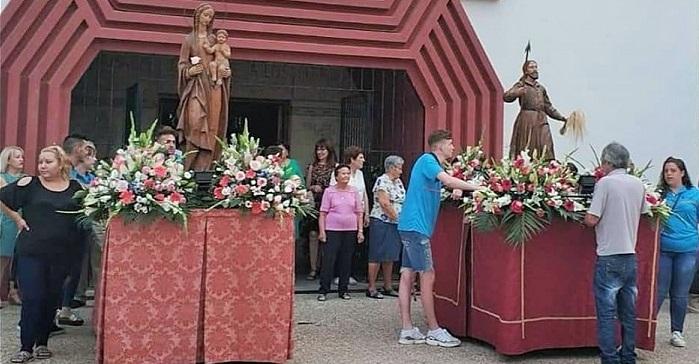 Virgen de los Llanos y San Isidro Labrador Carchuna