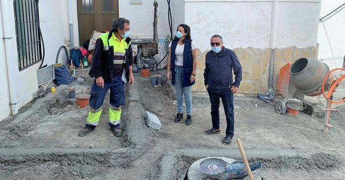 Avanzan los trabajos de rehabilitación en el barrio de San Miguel de Almuñécar