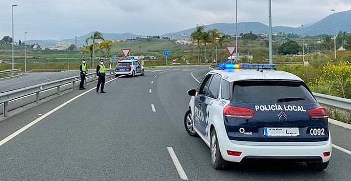 Control Policía Local Motril Estado de Alarma