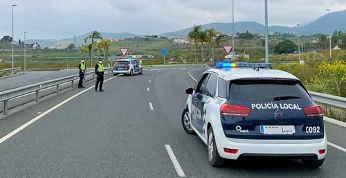 Control Policía Local Motril Estado de Alarma