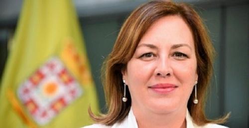 Cristina Jiménez, portavoz del grupo provincial de Vox en la Diputación de Granada