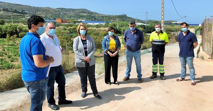 El Ayuntamiento de Motril culmina las obras de mejora en el camino de Las Barreras