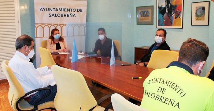 El Ayuntamiento de Salobreña inicia el Plan para la reincorporación presencial de los trabajadores municipales