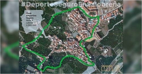 El Ayuntamiento de Salobreña propone 3 rutas diseñadas para practicar deporte y pasear de manera segura