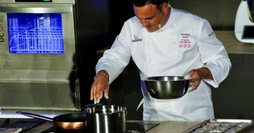 El cocinero Ángel León