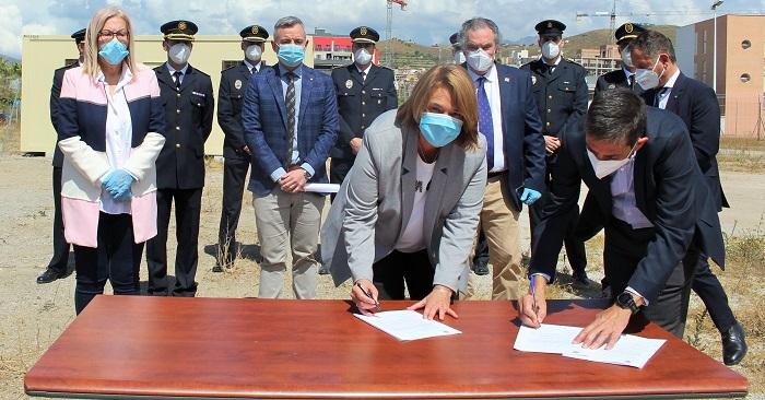 El futuro edificio de la Policía Local será el emblema de la obra pública del nuevo Motril