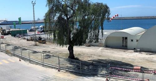 El Puerto espera tener concluida este mes la obra de remodelación del vial principal que mejora la accesibilidad
