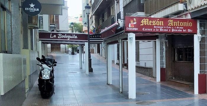 Hostelería calle Manila Almuñécar