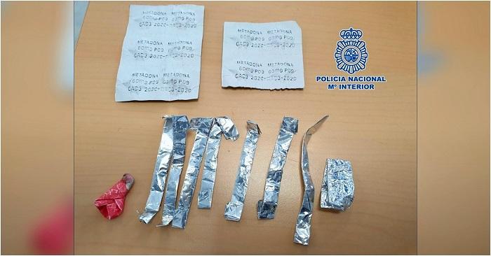 La Policía Nacional detiene en Motril a dos individuos por traficar con sustancias estupefacientes sirviéndose de un taxista