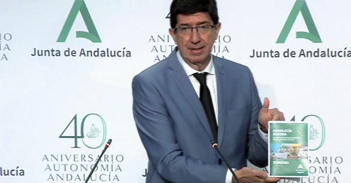 Las empresas turísticas podrán solicitar el distintivo 'Andalucía Segura' la próxima semana