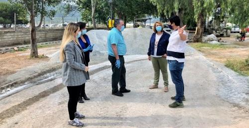 Motril reanuda las obras de mejora en El Puntalón dentro del programa de reactivación de las obras públicas