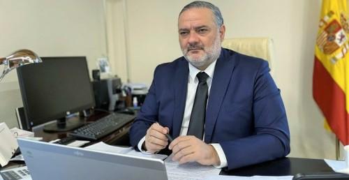 Pablo García, delegado del Gobierno de la Junta en Granada