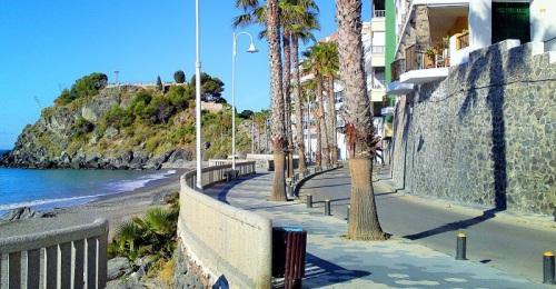 Paseo de La Caletilla en Almuñécar