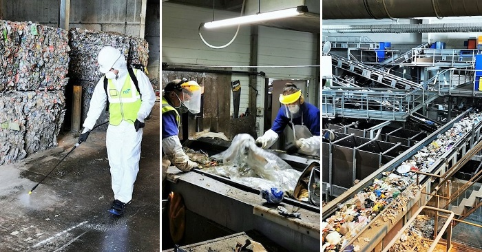 Planta tratamiento residuos Diputación Granada