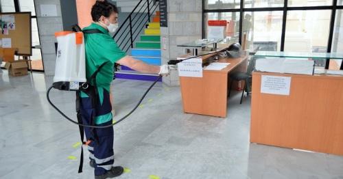 Salobreña se acoge a una subvención de Diputación para la desinfección de edificios públicos