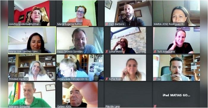 Videoconferencia Mancomunidad playas