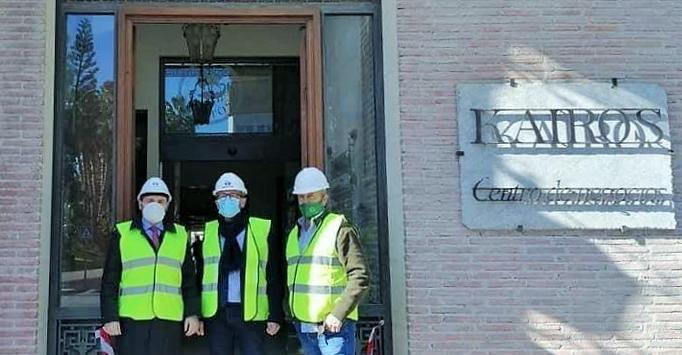 Comienza El Acondicionamiento De Las Instalaciones Del Centro Kairos Para Acoger Los Juzgados De Almuñécar Europatropical